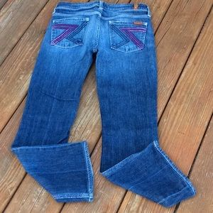 Women's For all man kind jeans